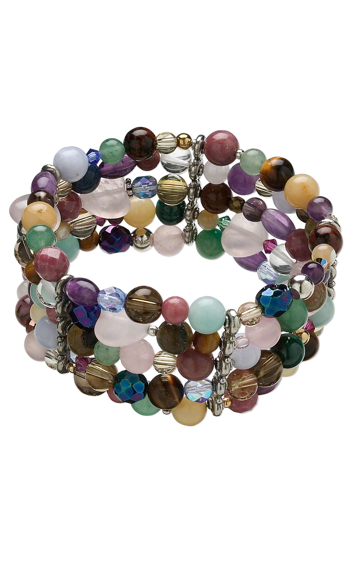 Jewelry Design Multi Strand Bracelet With Assorted