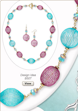 Design Idea B50T Necklace and Earrings
