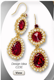 Design Idea C23E Necklace, Earrings and Ring Set
