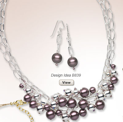 Design Idea B839 Necklace and Earring Set
