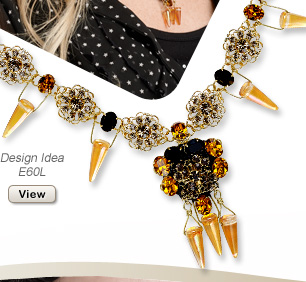 Design Idea E60L Necklace and Earring Set