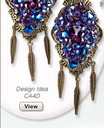 Design Idea CA4D Necklace and Earrings