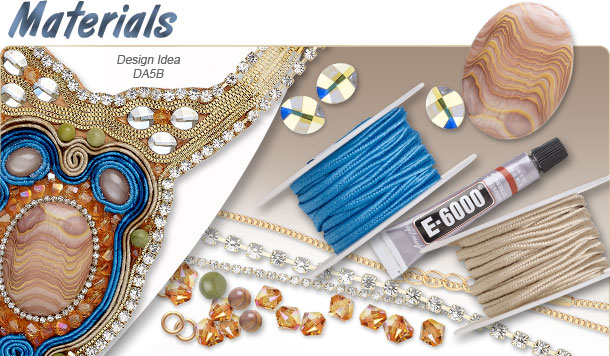 Materials and Components in the Spring/Summer 2014 Jewelry-Making Sahara Trend