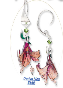 Design Idea E86R Earrings