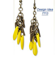 Design Idea 7713 Earrings