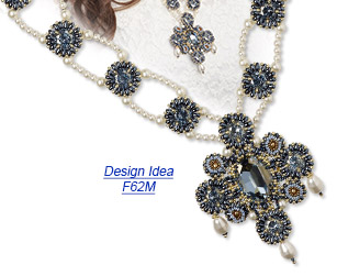 Design Idea F62M Necklace and Earrings