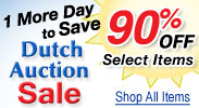 Dutch Auction Sale Final Day! Now 90