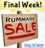 Rummage Sale - Final Week!