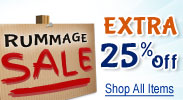 Rummage Sale Additional 25% Discounts