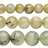 Bead mix, prehnite (natural), 10-20mm round, Mohs hardness 6 to 6-1/2. Sold per pkg of (3) 15-inch strands.