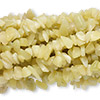 "Bead, new ""jade"" (natural), medium chip, Mohs hardness 2-1/2 to 6. Sold per pkg of (10) 36-inch strands."