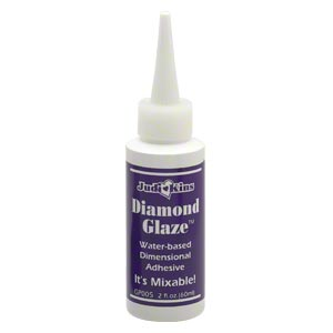Adhesive judi kins diamond glaze sold per 2 fluid ounce for Best glue for pearl jewelry